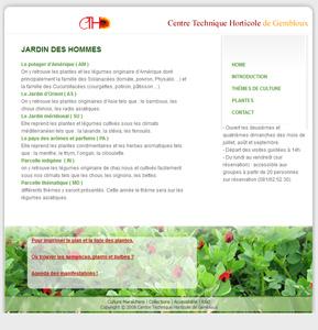 visites plantes comestibles Gembloux cthgx cth