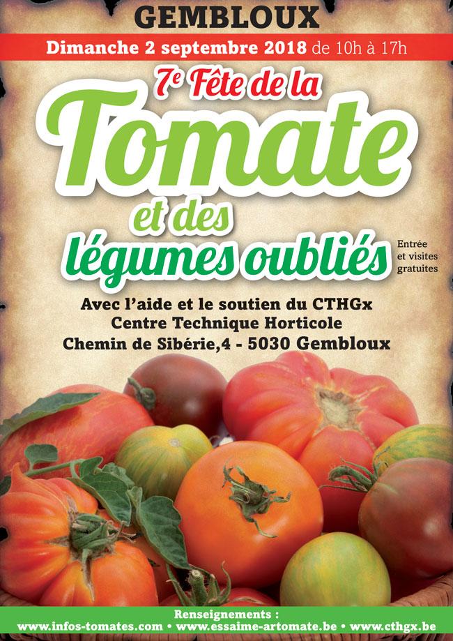 7e fête de la tomate gembloux cth 2018