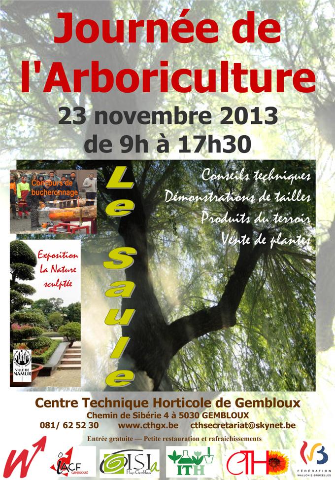 journee arboriculture gembloux cth 2013
