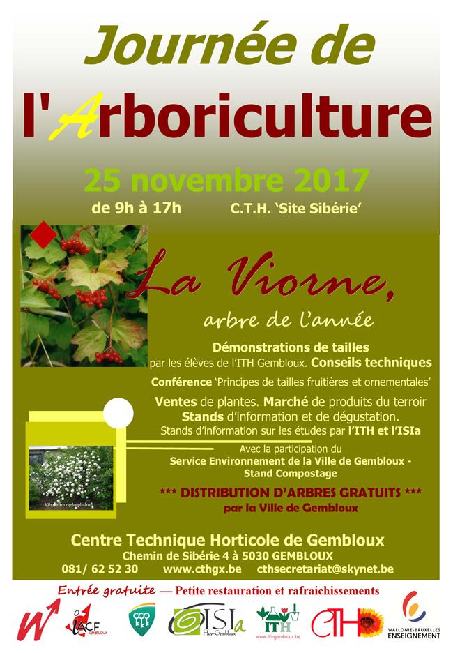 journee arboriculture gembloux cth 2017