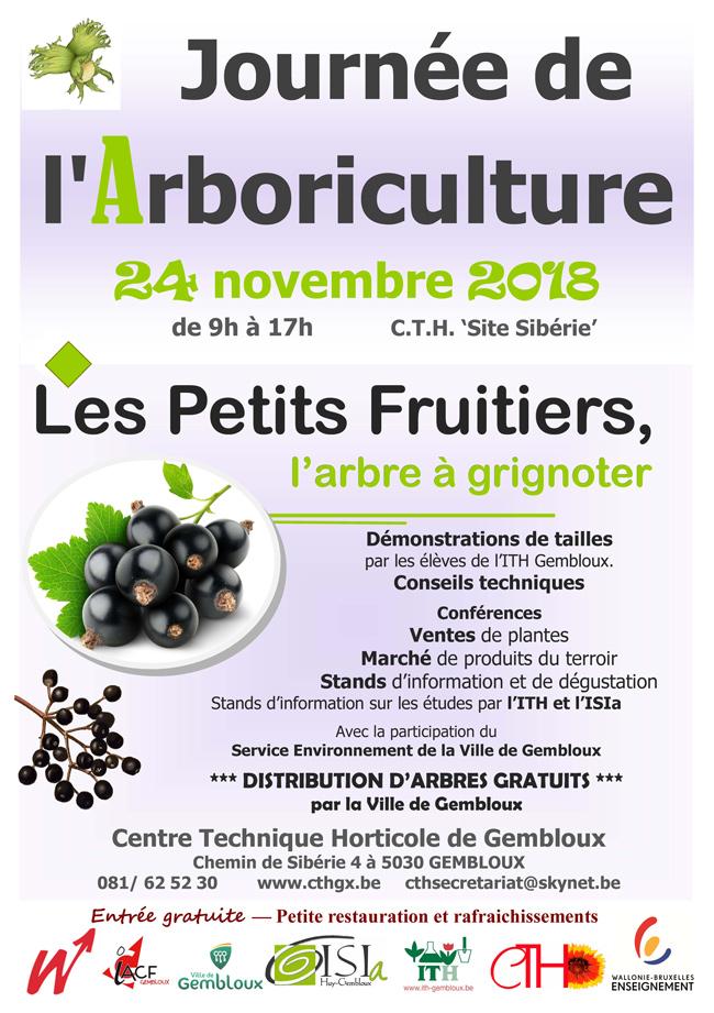 Journée de l'Arboriculture au Centre Technique Horticole de Gembloux 24 novembre 2018