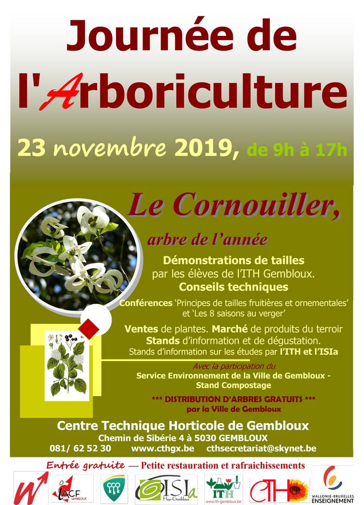 journee arboriculture gembloux 23 novembre 2019 au cth a gembloux