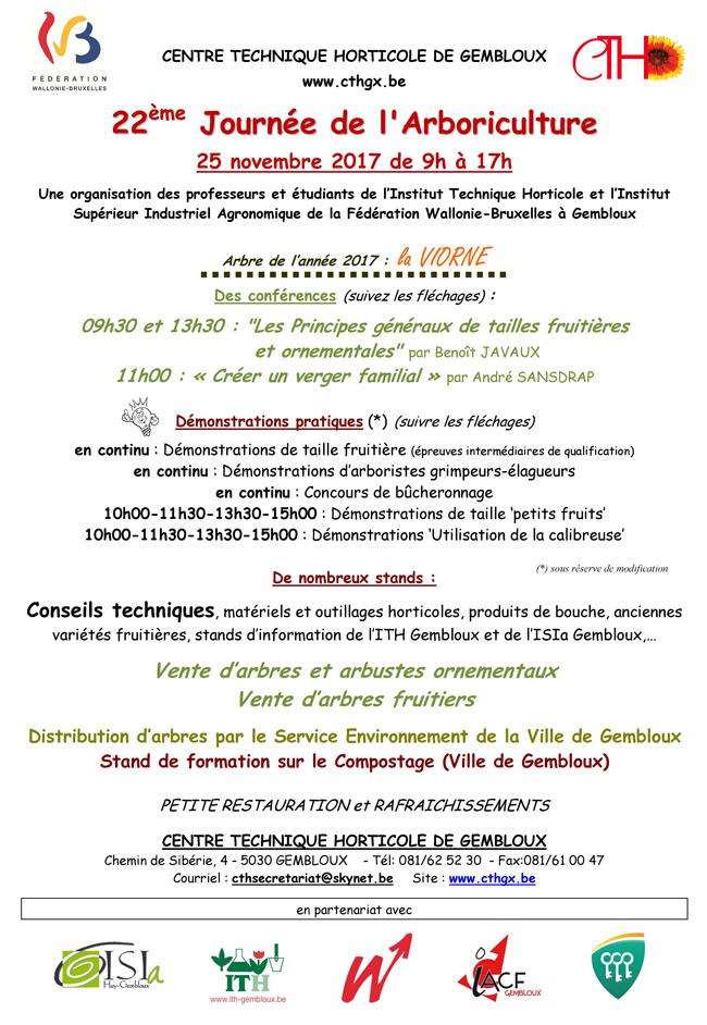 journee arboriculture 2017 gembloux cth 2017