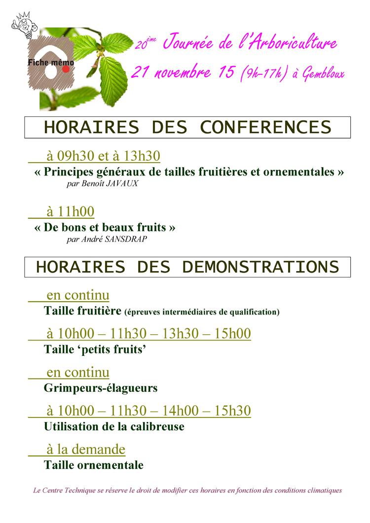 arboriculture journée arboriculture gembloux cth 2015