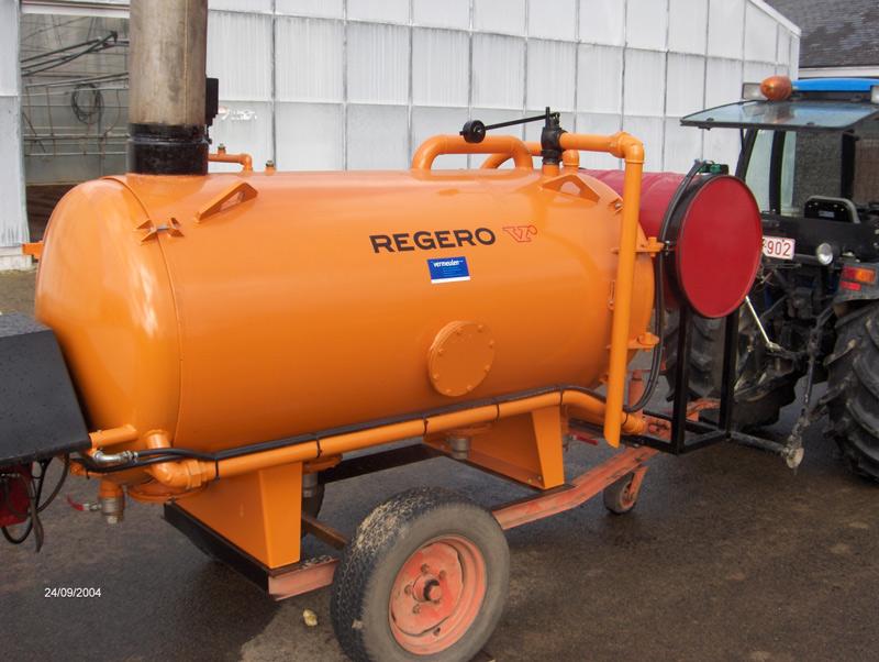 Chaudière à vapeur Regero BPA 400
