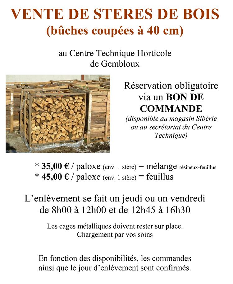 steres bois vente cth gembloux 2014
